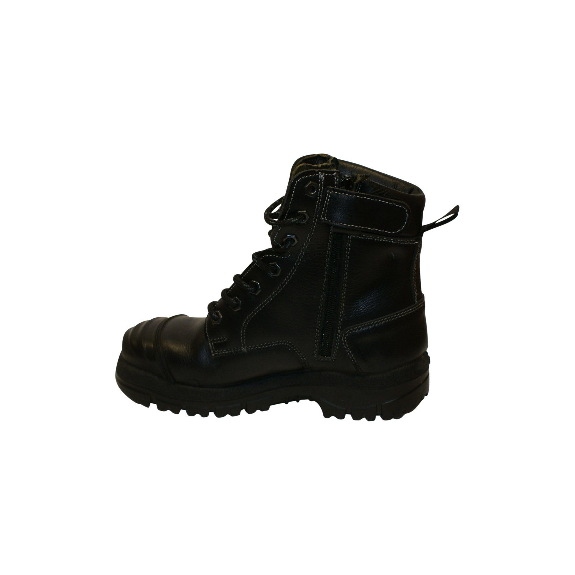 Goliath arbejdsstøvle, lang, m. sikkerhed, Dansk Militær, ubrugt