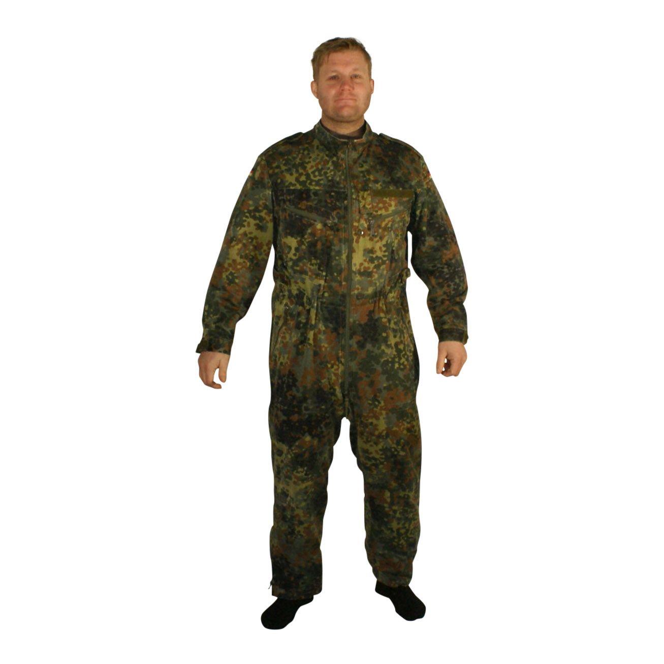 641bd84c9ba Kedeldragt, Tysk Militær, flecktarn camouflage, brugt